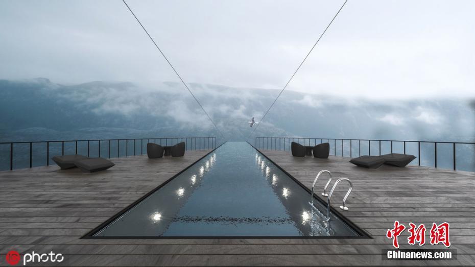 """刺激!土耳其建筑团队拟在挪威打造""""悬崖酒店"""""""