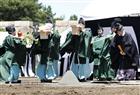 日本皇宫举办开工仪式