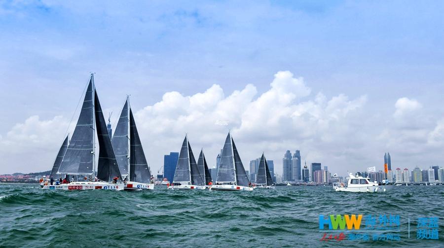 远东杯8支赛队挥别青岛 起航前往俄罗斯