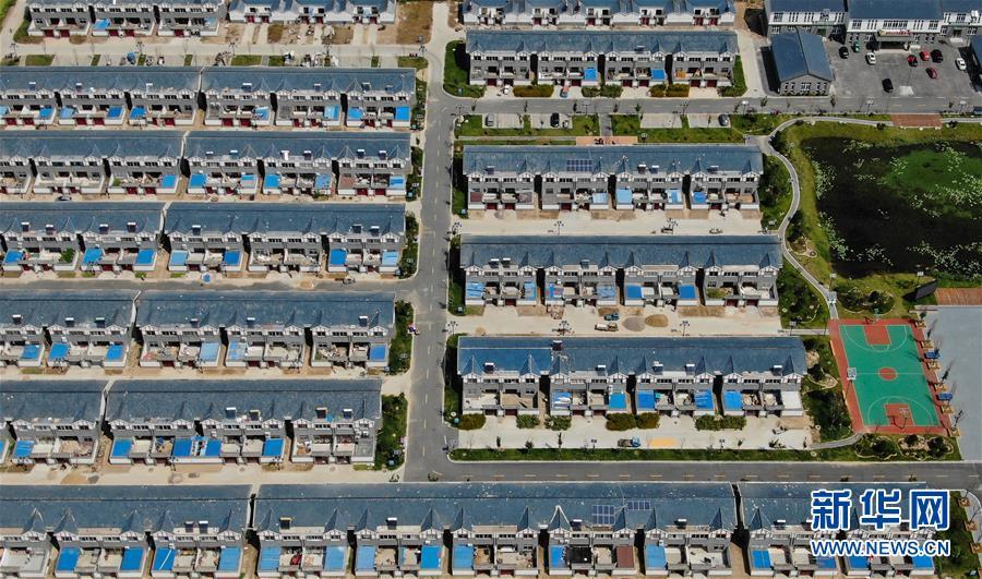 江苏沭阳:改善住房条件 建设新型社区