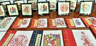 河北蔚县剪纸艺术展北京举办