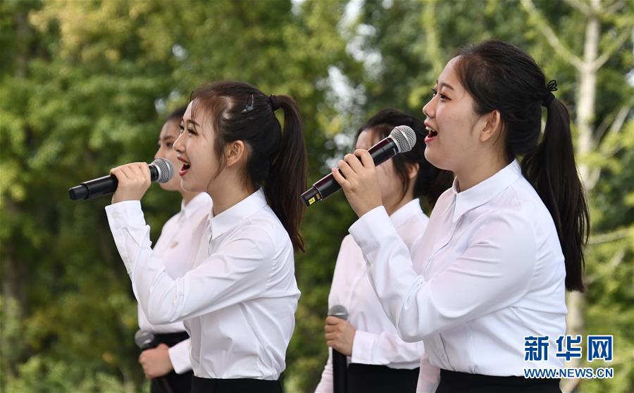 """北京世园会迎来""""朝鲜国家日"""""""