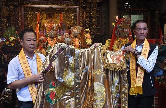 台湾寰宇妈祖文化国际交流协会赴湄洲谒祖进香
