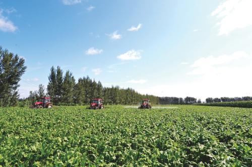 現代農業快步走