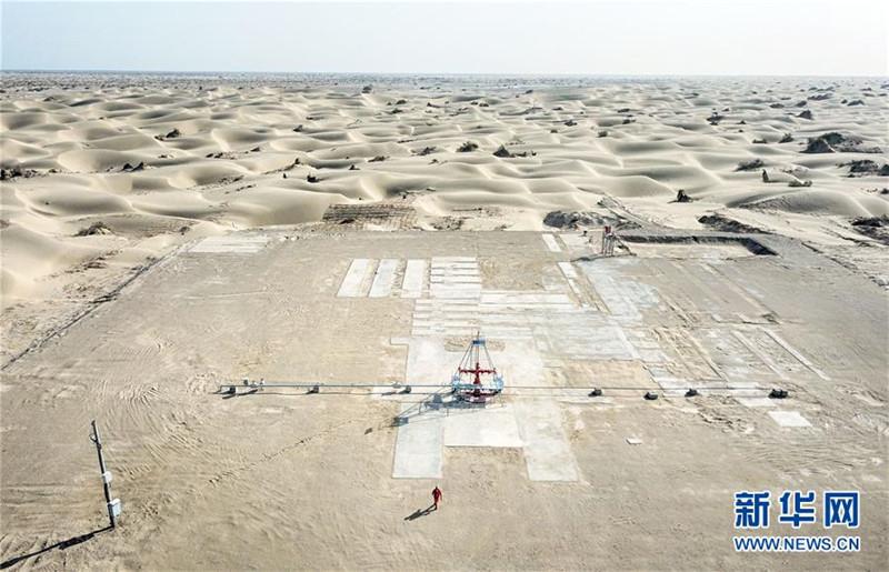 我为祖国献石油——沙漠中的石油工人