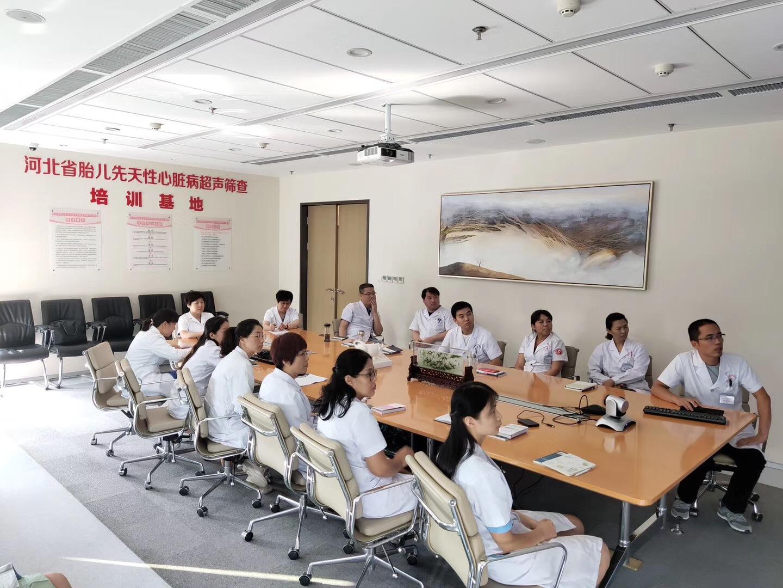 河北省胎儿先心病超声筛查扶贫项目在张北启动
