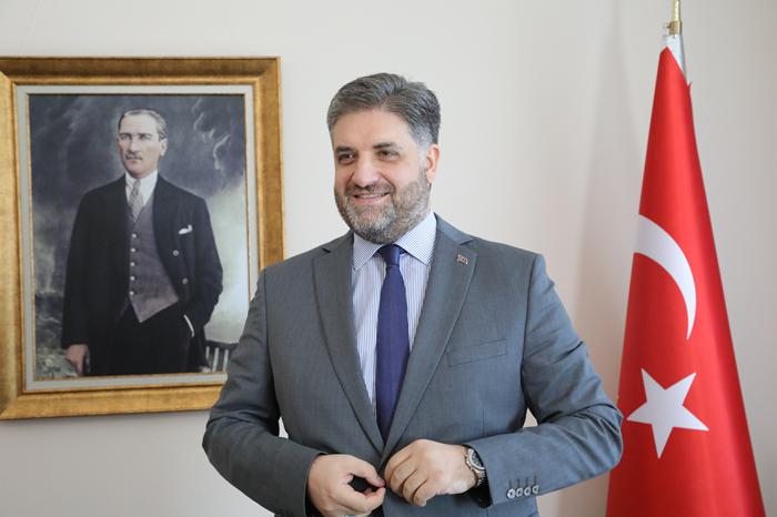 到土耳其驻华使馆看帅哥