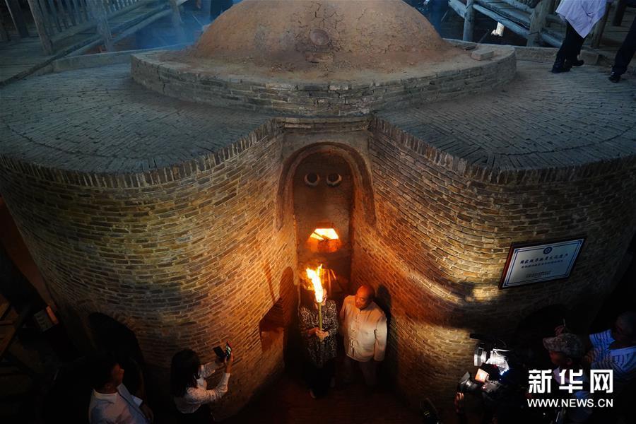 江西景德镇:明代葫芦窑复烧