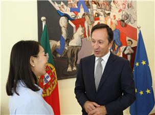 葡萄牙驻华大使:杜傲杰