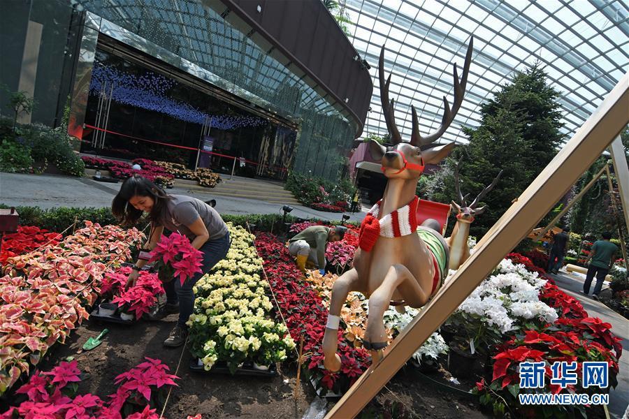新加坡滨海湾花园将迎来北欧风情圣诞节