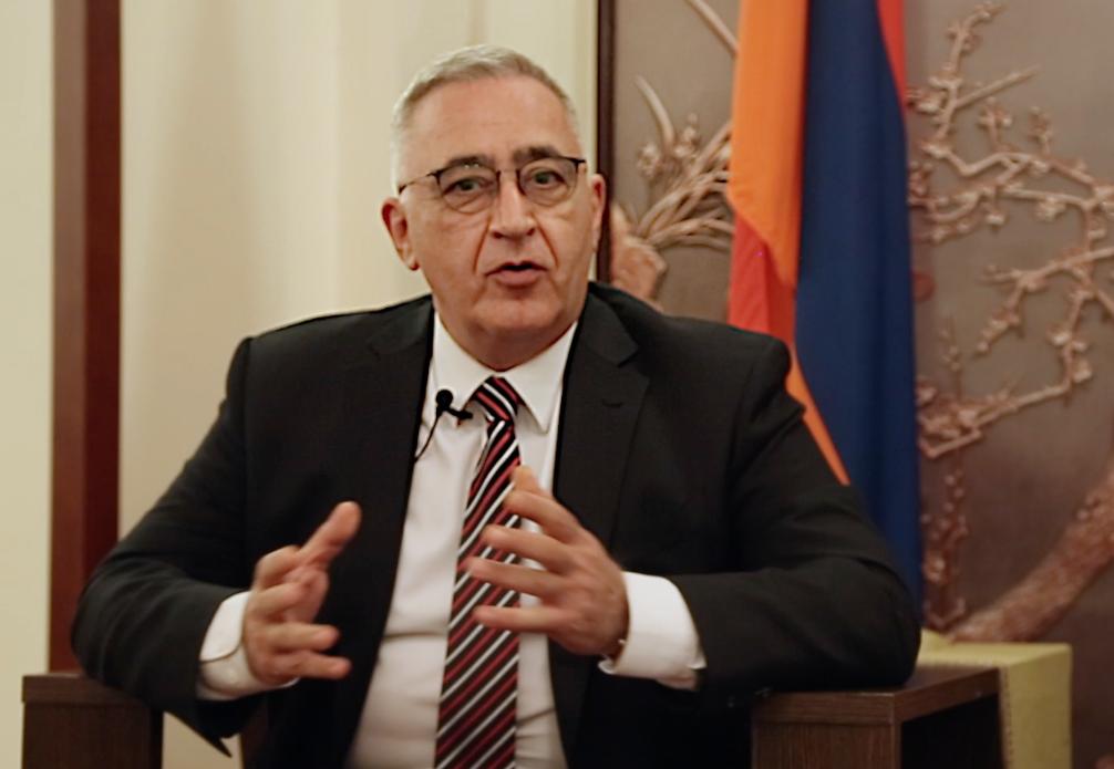 亚美尼亚驻华大使:谢尔盖·马纳萨良