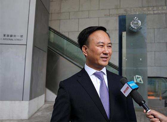 欧洲华侨华人和香港市民用多种方式支持香港警队