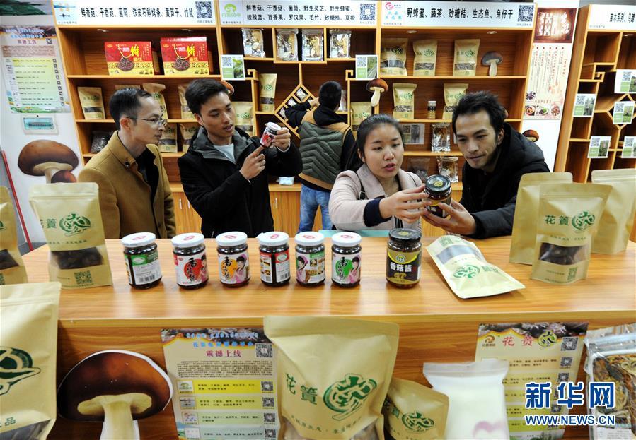 广西荔浦:蘑菇产业带动脱贫
