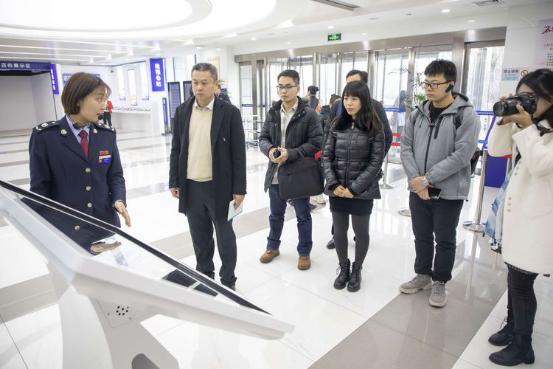 珠海市横琴新区税务局一行到西安经开区参观交流