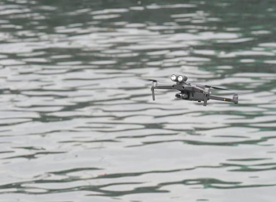 香港土木署拟推无人机检查海事设施 省时又省钱
