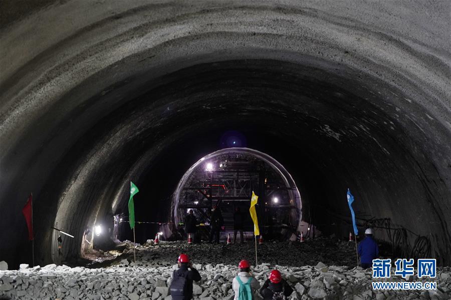 京沈高铁全线隧道贯通 即将全线建成通车
