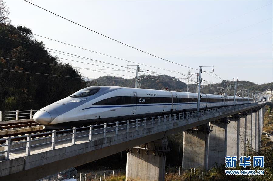 成(都)贵(阳)高铁全线正式开通运营