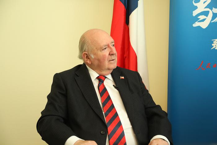 智利驻华大使:路易斯·施密特