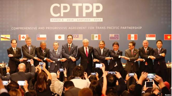 tpp 缩减成 cptpp,对中国经济影响几何