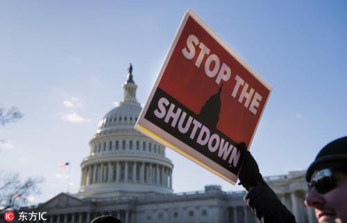 """白宫最长""""关门""""纪录背后,是政治极化的美国"""