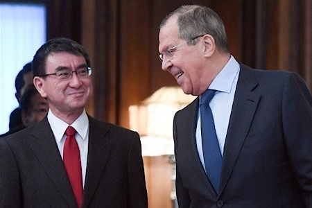 """俄罗斯:接受不了日本把争议领土叫""""北方领土"""""""