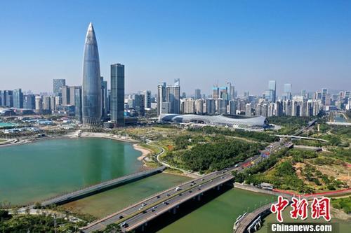 资料图:深圳。中新社记者 陈文 摄