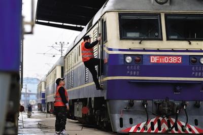 中国铁路保障春运安全