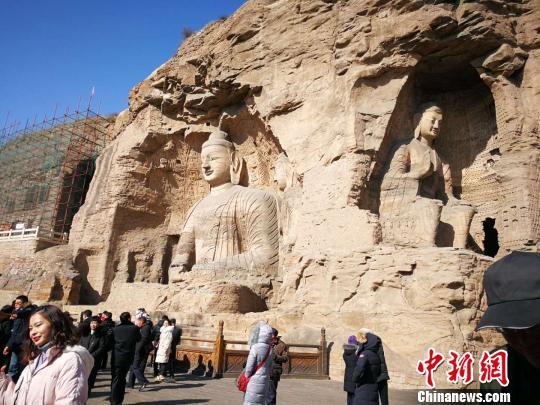 云冈石窟是中华艺术宝库中独一无二的宝贵遗产。 杨杰英 摄