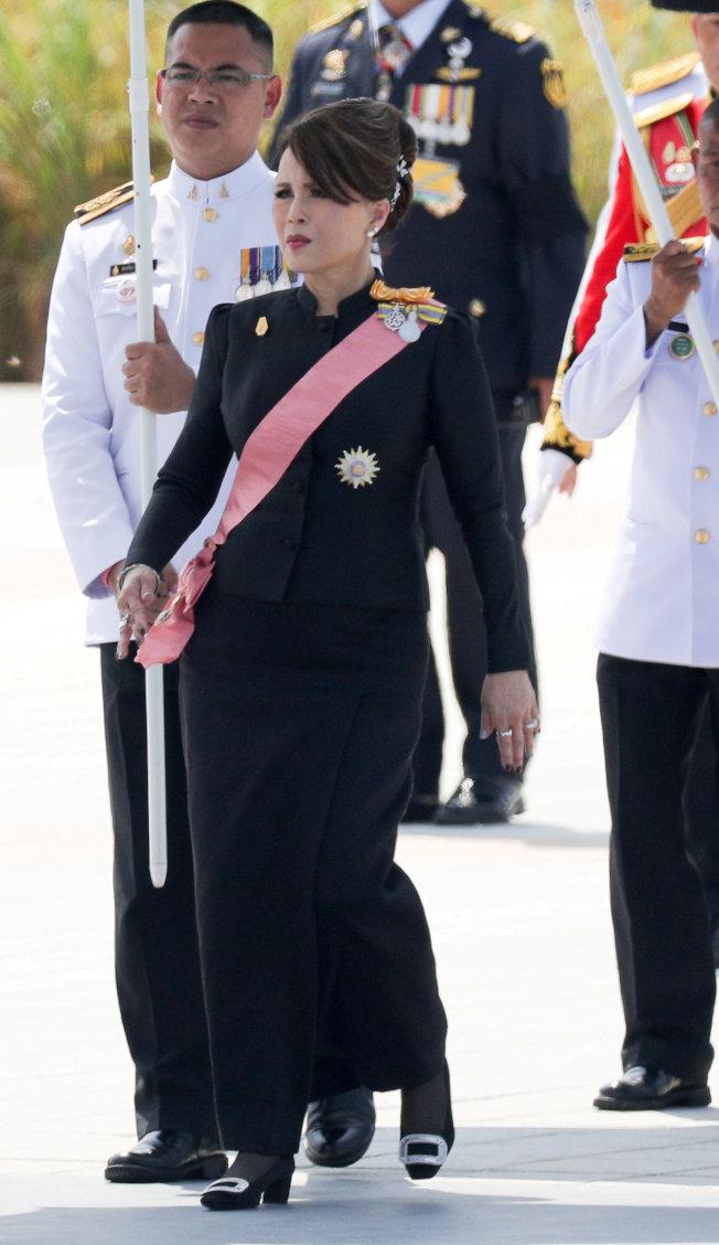 泰王的姊姊烏汶叻宣布角逐總理大位。(路透).jpg