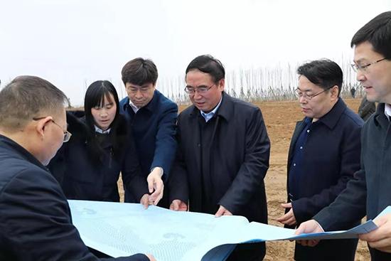 山西省对运城市开展生态建设调研指导工作