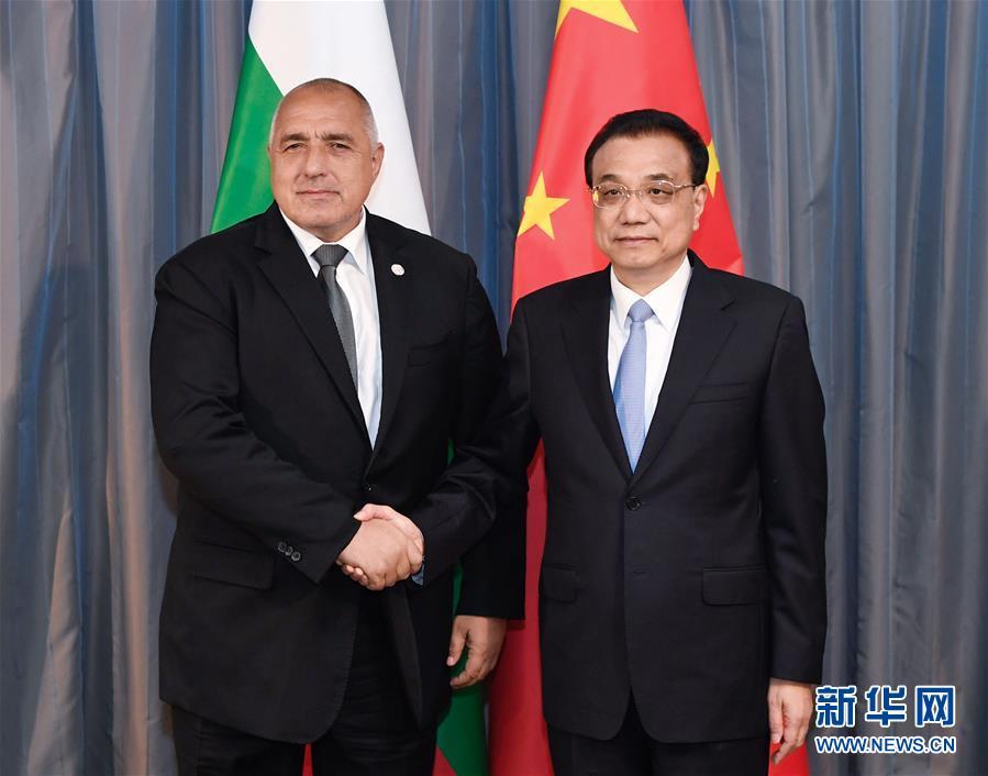 (时政)李克强会见保加利亚总理鲍里索夫
