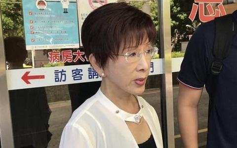 关于黎民党参选台湾区域带领人,洪秀柱表态了
