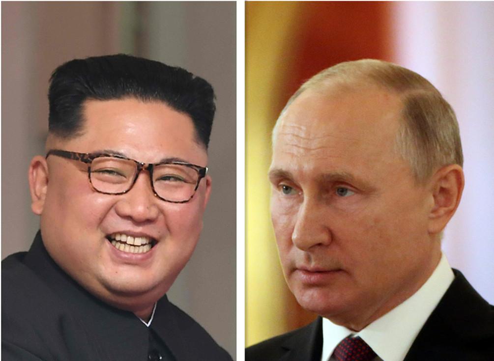 克宫:目前没有普京与金正恩会晤的详细消息