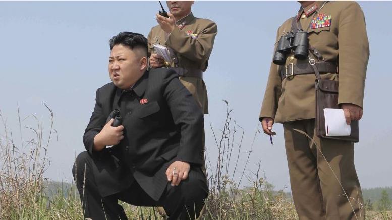 朝鲜称试射新型战术制导武器