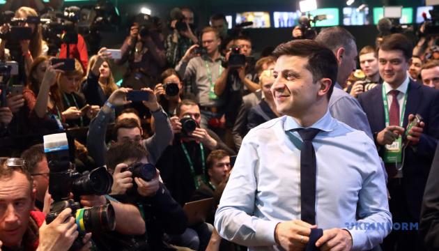 泽连斯基胜选收到各国贺电 普京却拒绝祝贺……