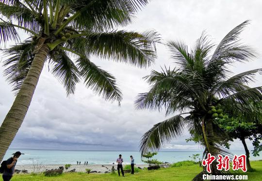 迷人的东海岸线吸引一批又一批游客前来参观。 钟欣 摄