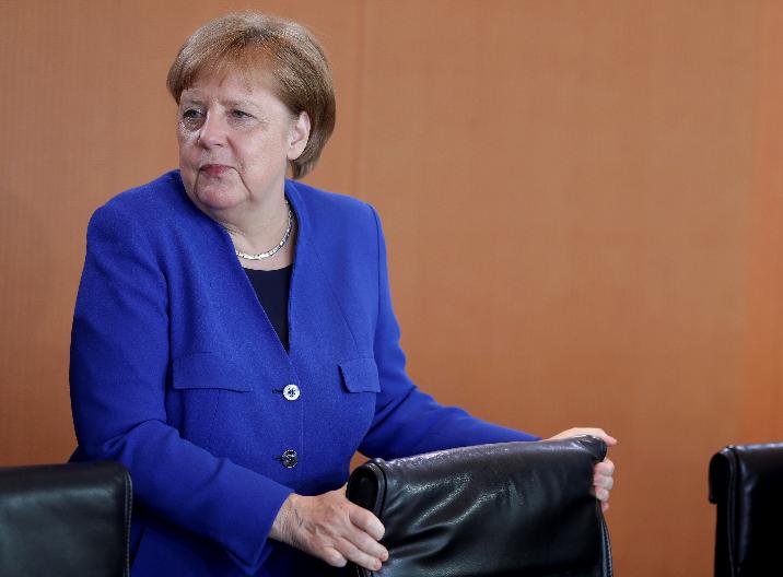 默克尔承认伊朗问题上表现软弱 呼吁欧洲团结起来