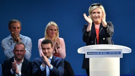 欧洲议会选举执政党稍落后极右翼 马克龙鼓励:成绩可嘉