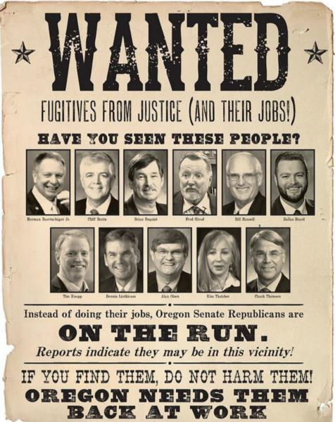 11名美议员拒投票集体 quot;出逃 quot; 警察抓捕4天无果