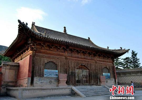 """中国西北""""小故宫""""青海瞿昙寺被立体保护"""