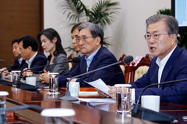 文在寅:日本阻止韩国经济发展的行为不会成功