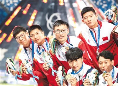 中国队收获22金斩获颇丰 大运会正式进入成都时间