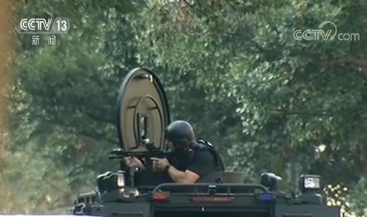 美国费城枪击已致6名警察受伤 枪手直播射击过程