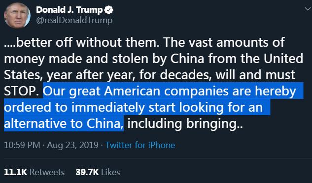"""海外网评:让美国企业""""撤出""""中国市场,可能吗?"""
