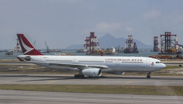 一周连续第三起!国泰航空客机再曝氧气瓶遭排空