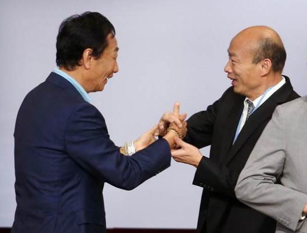郭台铭办公室否认将与韩国瑜整合:媒体断章取义