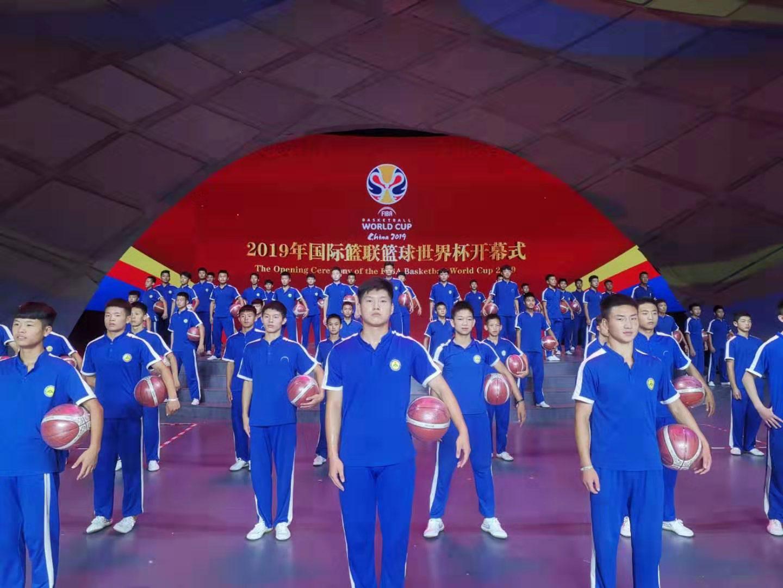 河南少林小子惊艳2019男篮世界杯开幕式