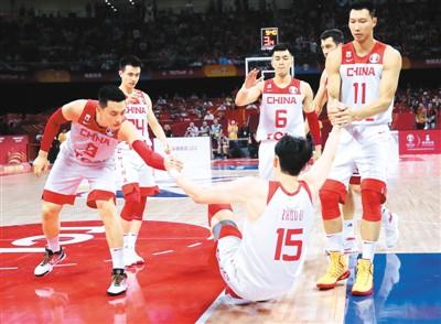 中国男篮今迎生死战 同委内瑞拉队争夺十六强名额