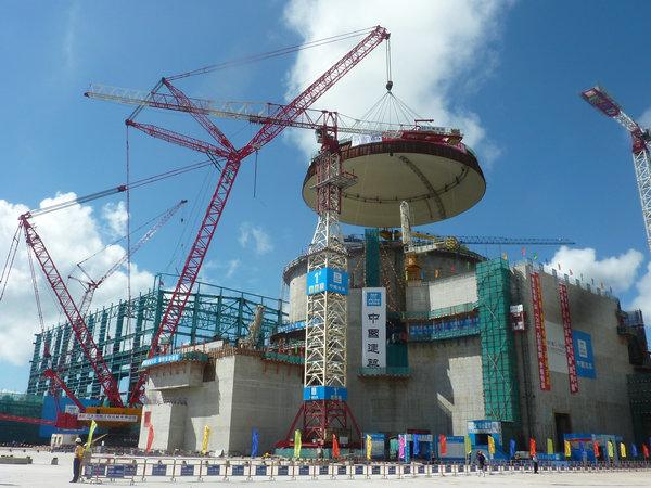台山核电站2号机组核岛穹顶吊装-李兵摄.JPG