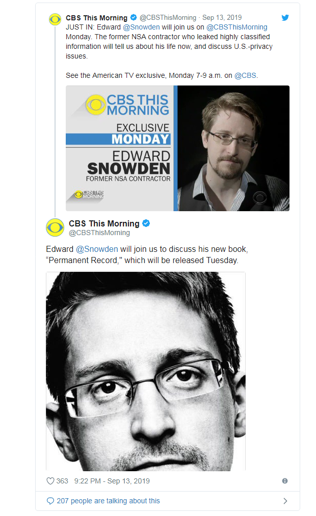 Edward Snowden To Appear on US TV Ahead of Book Pu.png